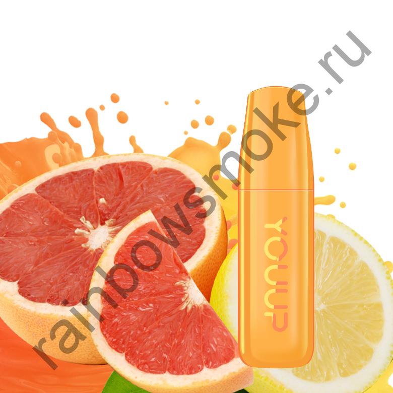 Электронная сигарета Dexx YOUUP ГРЕЙПФРУТ-ЛИМОН 1,8% NIC (Grapefruit Lemon)