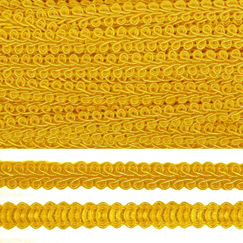 Тесьма декоративная плетеная ШАНЕЛЬ ширина 8 мм. (0384-0016)