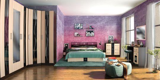 Спальня Эрика (вариант 1)