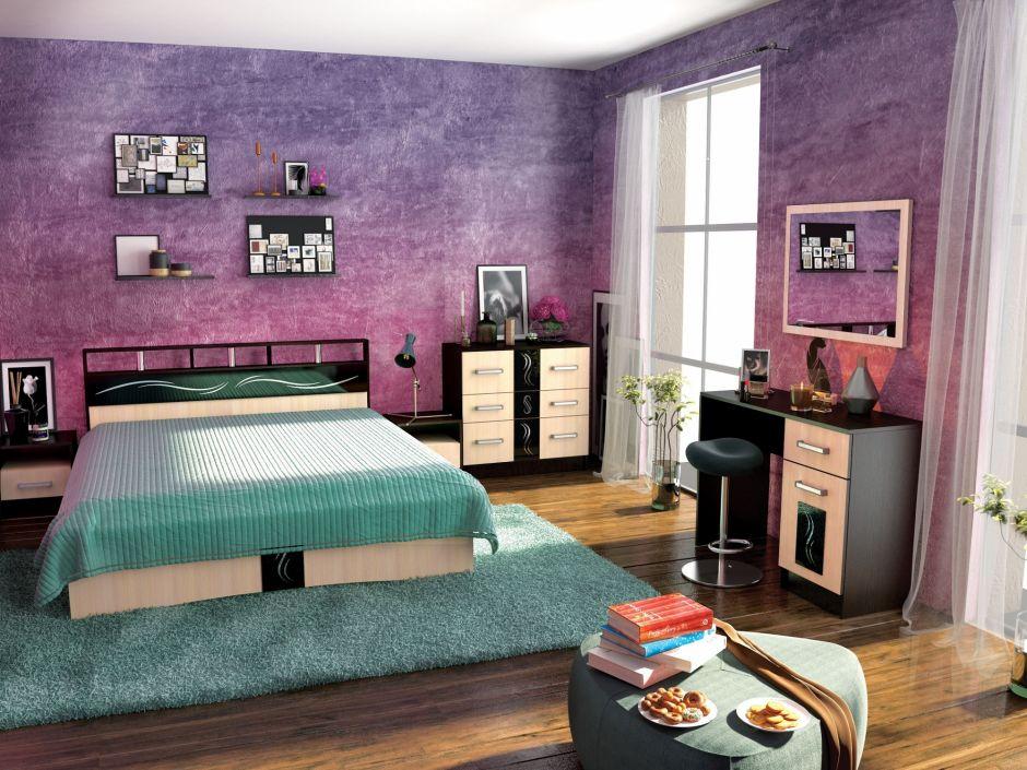 Спальня Эрика (вариант 3)