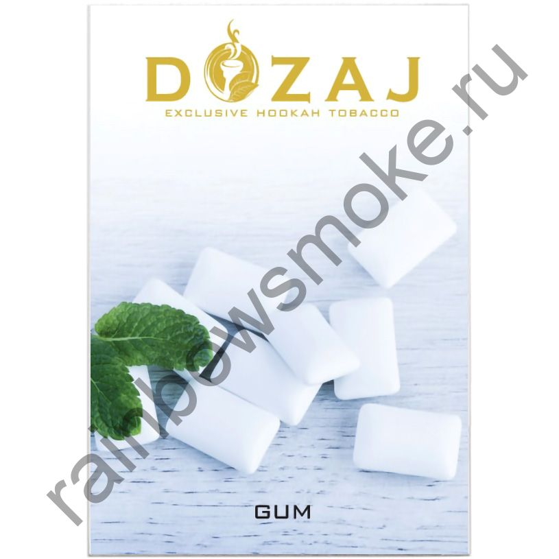 Dozaj 50 гр - Gum (Мятная Жвачка)