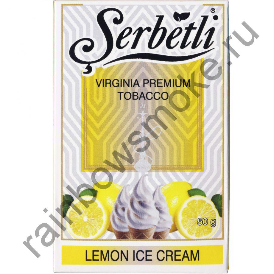 Serbetli 50 гр - Lemon Ice Cream (Лимонное Мороженое)