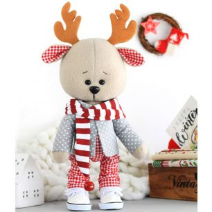 Набор для шитья текстильной игрушки - оленёнок Оливер