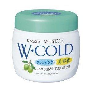 Kracie Moistage Очищающий и увлажняющий холодный крем для лица 270 гр