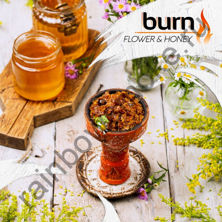 Burn 200 гр - Flower & Honey (Цветы и мёд)