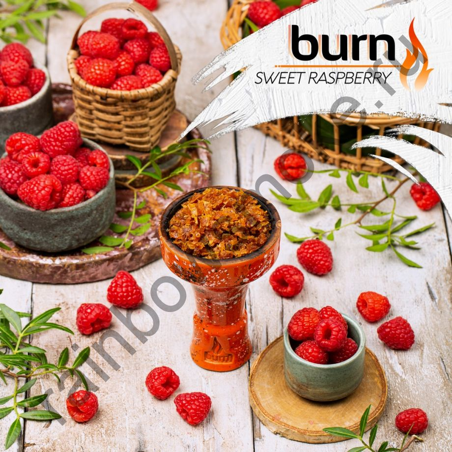 Burn 200 гр - Sweet Raspberry (Сладкая Малина)