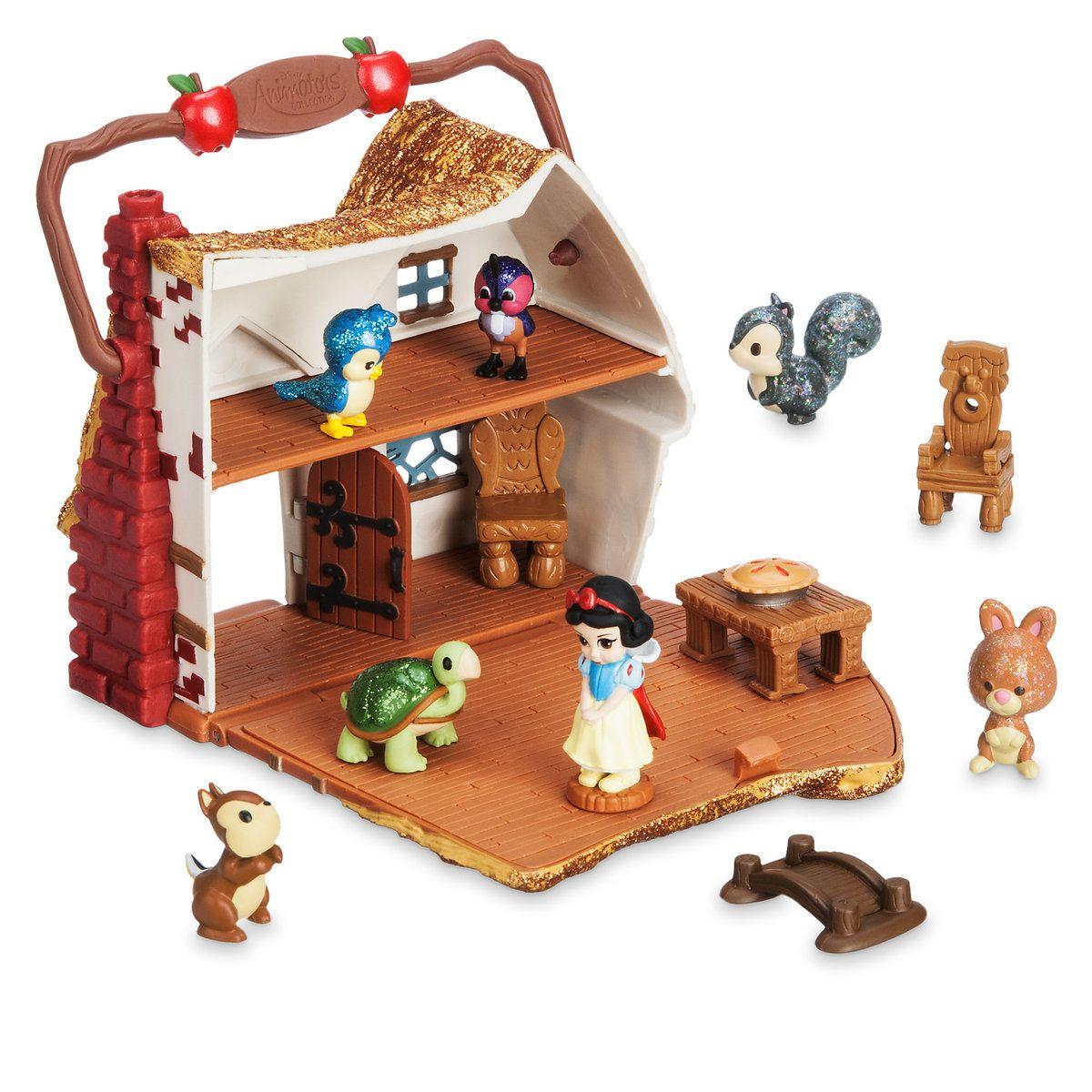 Игровой набор мини домик с аксессуарами Белоснежка, Disney Store