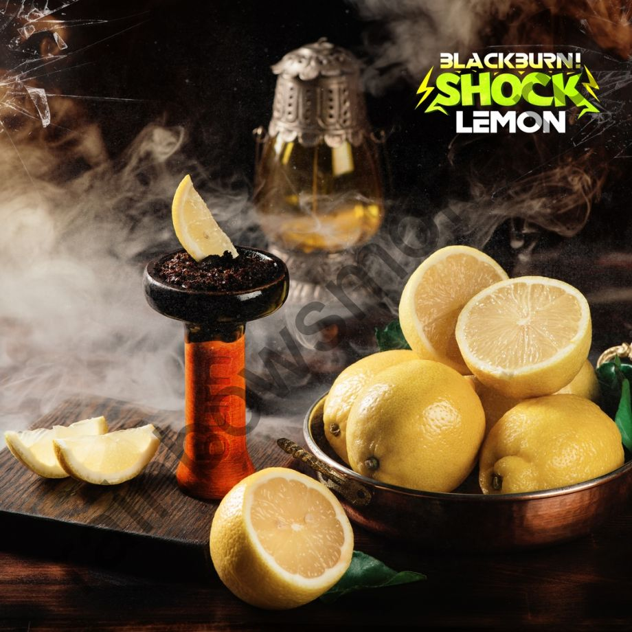 Black Burn 100 гр - Lemon Shock (Кислый Лимон)