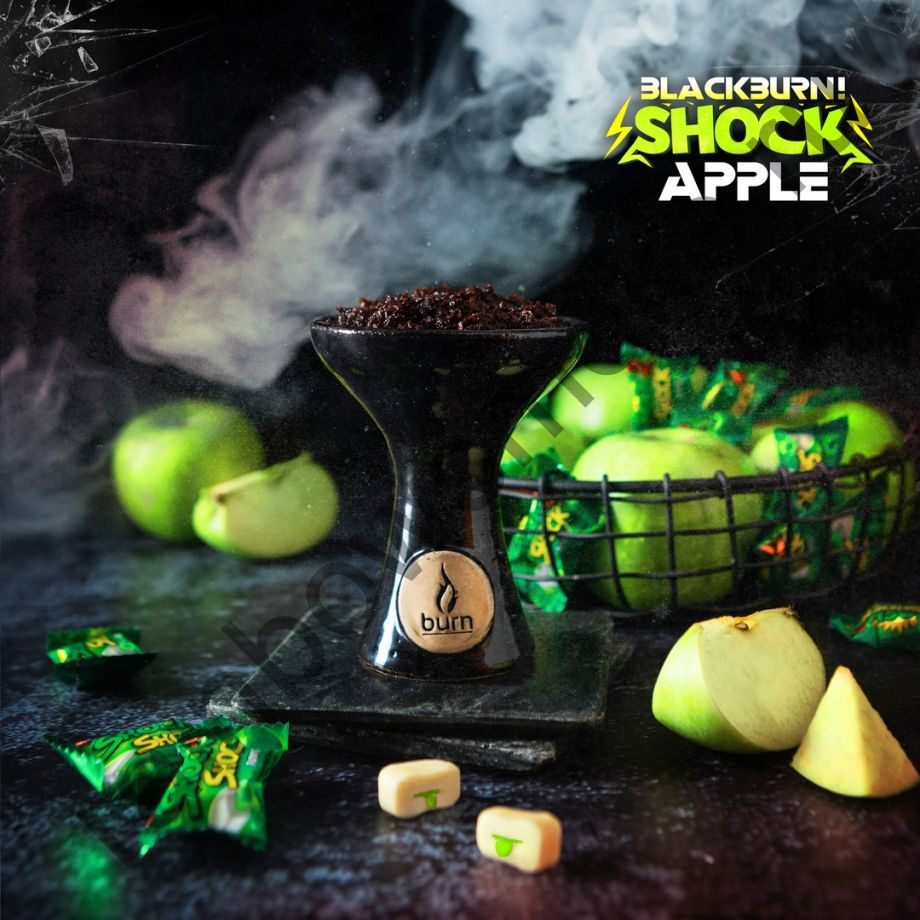 Black Burn 200 гр - Apple Shock (Кислое Яблоко)