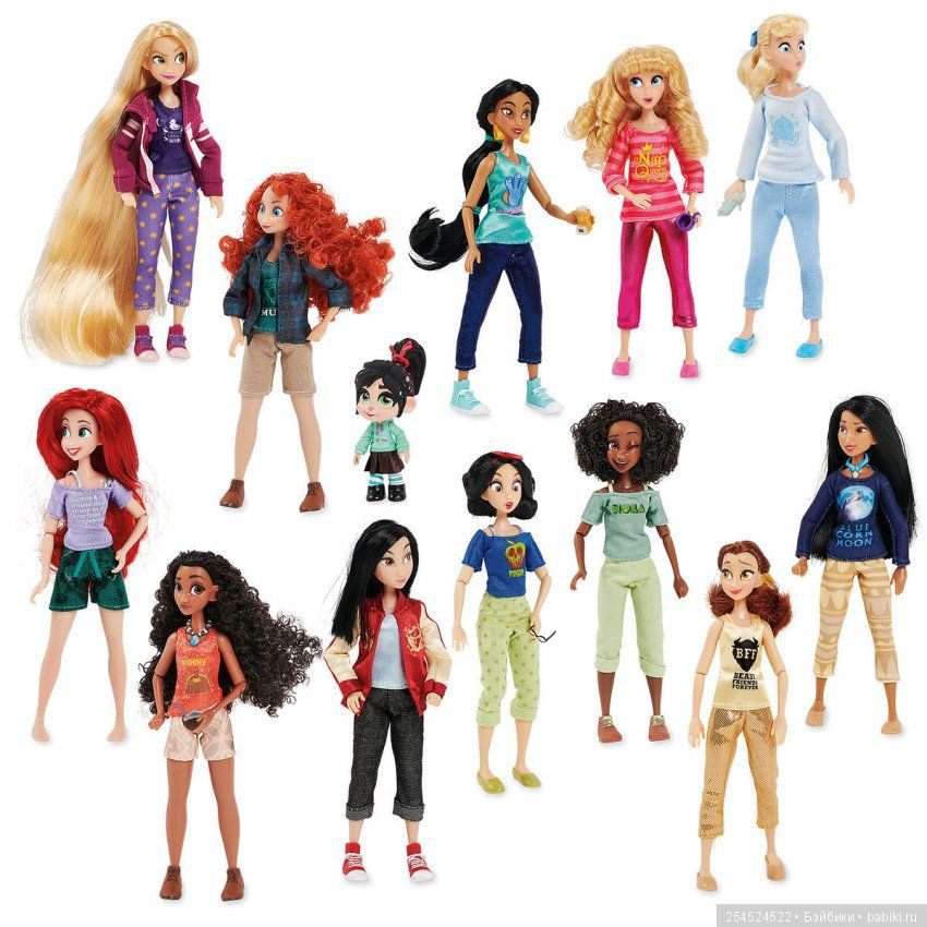 Набор кукол Ваниллопа с принцессами – Ральф против интернета Дисней