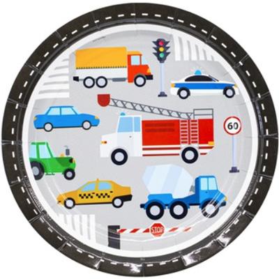 Тарелки Техника и Транспорт