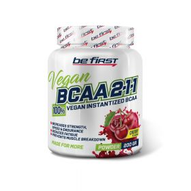 BCAA Be First BCAA 2:1:1 VEGAN instantized powder 200 гр,