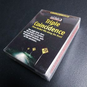 #НЕНОВЫЙ TRIPLE Coincidence By CARD-SHARK'S - Phoenix LARGE INDEX