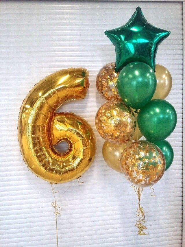 Гелиевые шары композиция №49