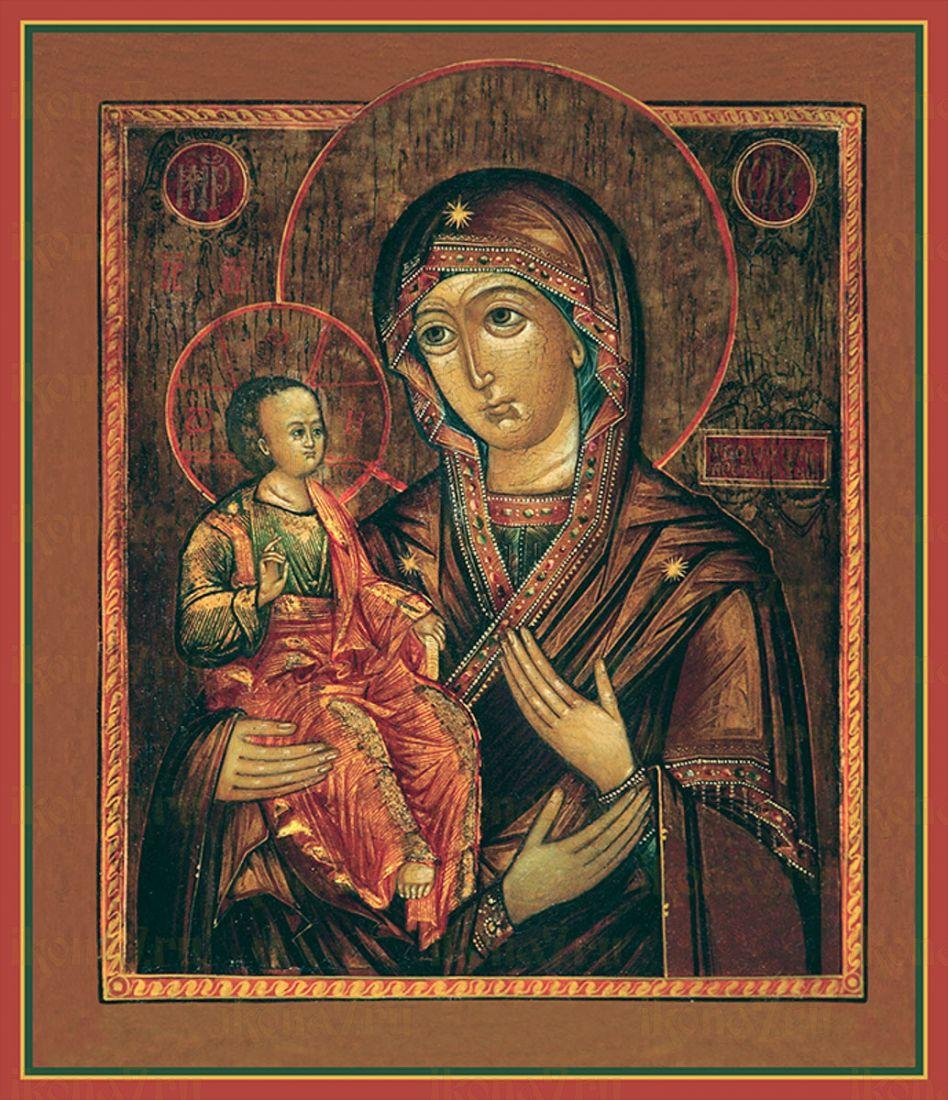 Троеручица икона Божией Матери