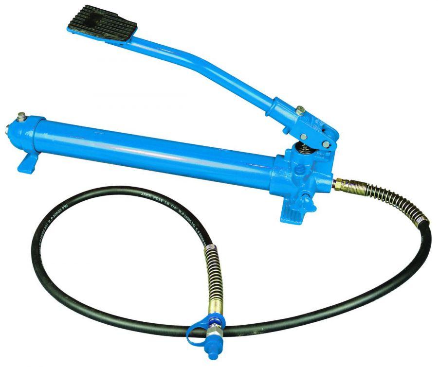 Гидравлический насос с ножным приводом, синий, HM3403, СТАНКОИМПОРТ