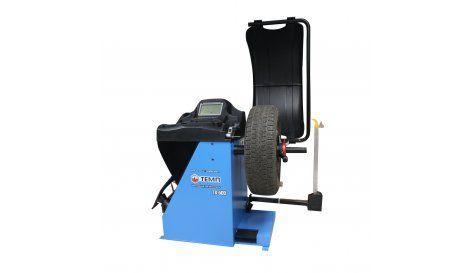 Автоматический балансировочный станок, 2 эл. линейки синий