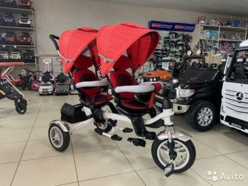 Велосипед для двойняшек BlackAqua 2020