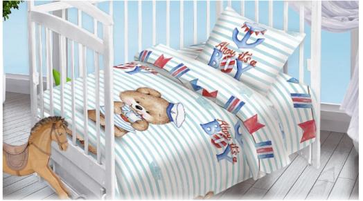 Комплект детский Мишка-Морячок