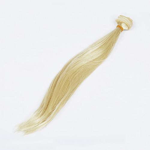 Волосы Трессы Прямые Элит 50/30 2 шт. золотой блонд