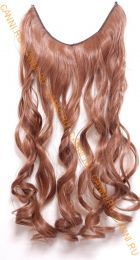 Искусственные термостойкие волосы на леске волнистые №030 (60 см) - 100 гр.