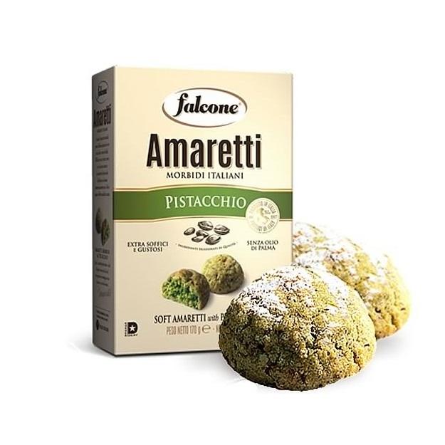 Амаретти с фисташками Фалконе 170 г,   Amaretti morbidi d'Abruzzo Falcone 170 g