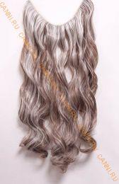 Искусственные термостойкие волосы на леске волнистые №F006A/613 (60 см) - 100 гр.