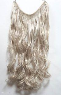 Искусственные термостойкие волосы на леске волнистые №F014/613 (60 см) - 100 гр.