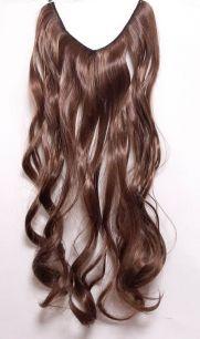 Искусственные термостойкие волосы на леске волнистые №M004/027 (60 см) - 100 гр.
