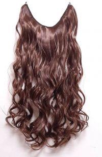 Искусственные термостойкие волосы на леске волнистые №M004/030 (60 см) - 100 гр.
