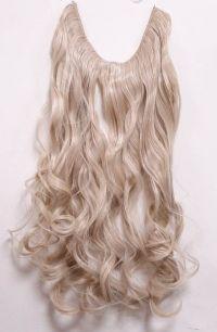 Искусственные термостойкие волосы на леске волнистые №M024/613 (60 см) - 100 гр.