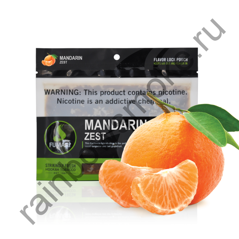 Fumari 100 гр - Mandarin Zest (Мандариновая Цедра)