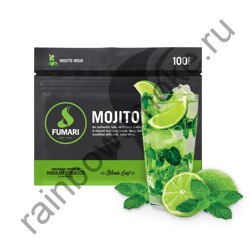 Fumari 100 гр - Mojito Mojo (Мохито)