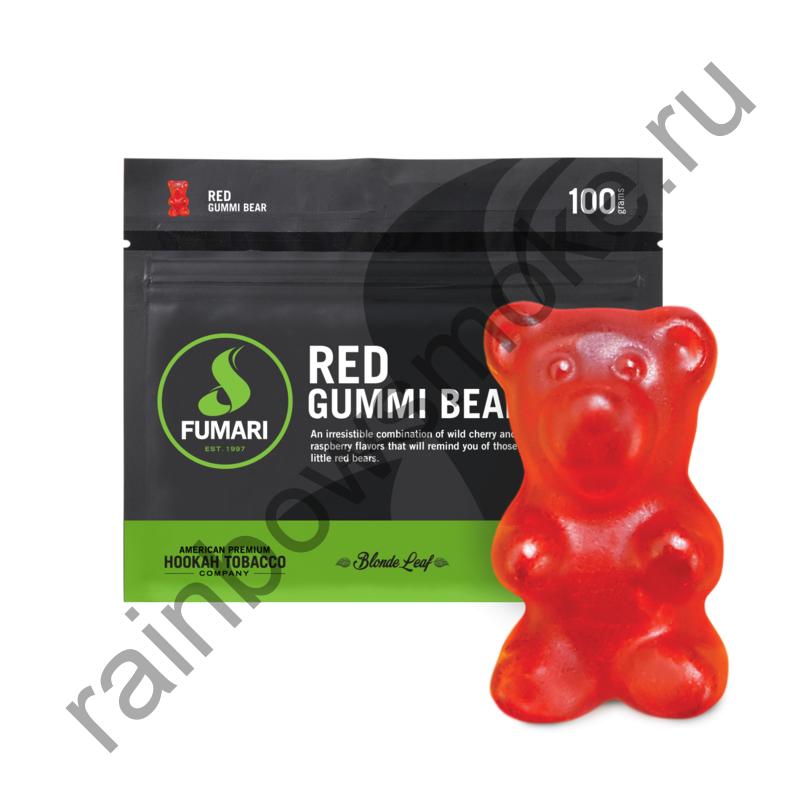 Fumari 100 гр - Red Gummi Bear (Красный Мармелад)