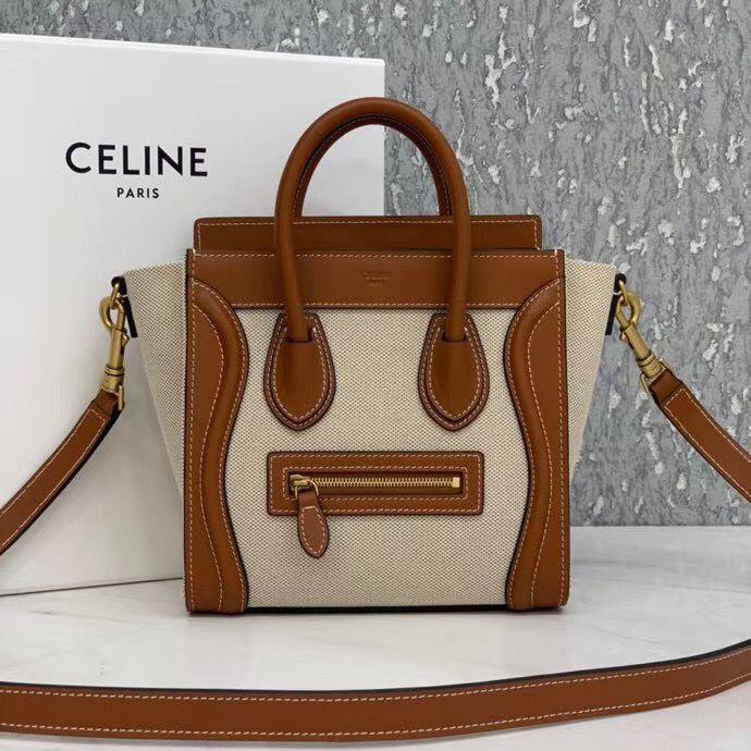 Celine Luggage Bag Nano  20 cm