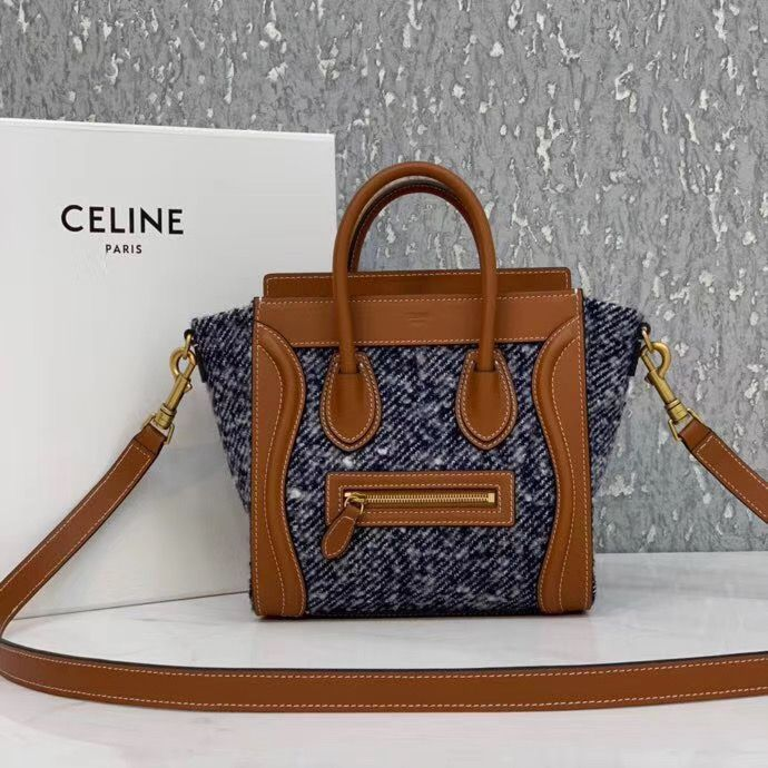 Celine Luggage Bag Nano  20 cm