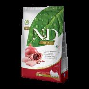 N&D Prime Dog GF Chicken & Pomegranate Adult Mini Курица, гранат. Полнорационный корм для взрослых собак. (7 кг)