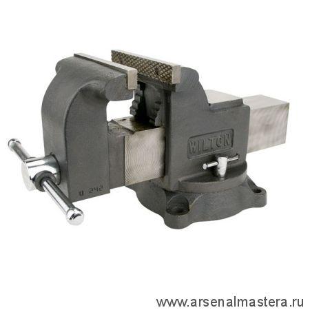 Тиски слесарные Мастерская, губки 125 мм 14 кг 2109 кг / см 2 JET Wlton 63301