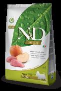N&D Prime Dog GF Boar & Apple Adult Mini Кабан, яблоко. Полнорационный корм для взрослых собак. (7 кг)