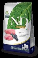 N&D Prime Dog GF Lamb & Blueberry Adult Medium & Maxi Ягненок, черника. Полнорационный корм для взрослых собак. (12 кг)