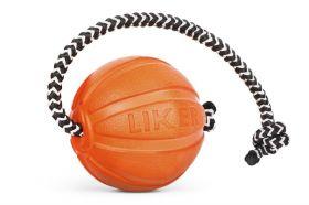 Liker. Мячик ЛАЙКЕР Корд, на шнуре, диаметр 7см.