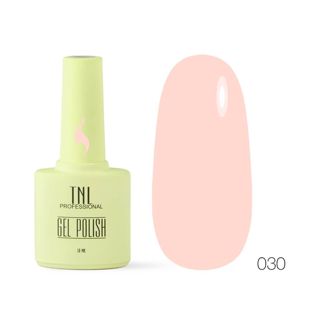 TNL гель-лак 8 чувств 030 персиковый мусс, 10ml