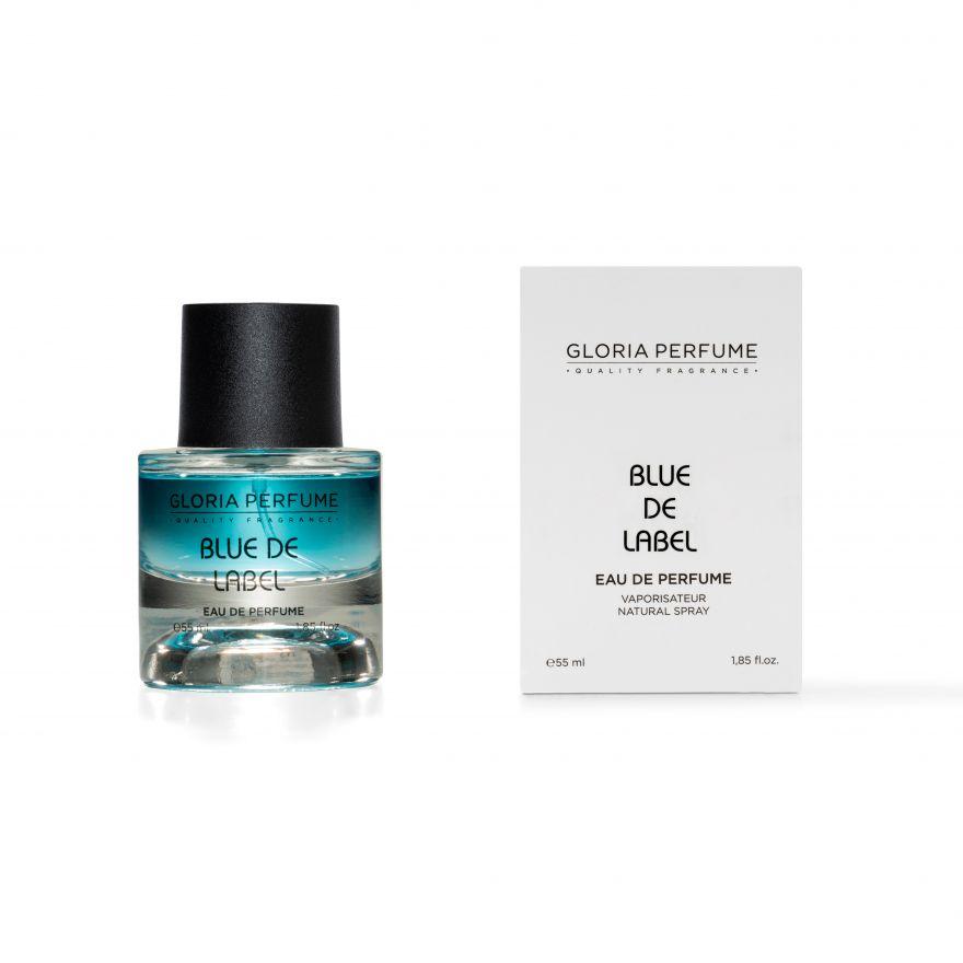 GLORIA PERFUME BLUE DE LABEL MEN  (GIVENCHY BLUE LABEL) 55МЛ