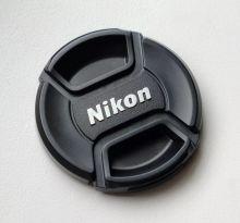 Крышка для объективов с надписью Nikon 62мм