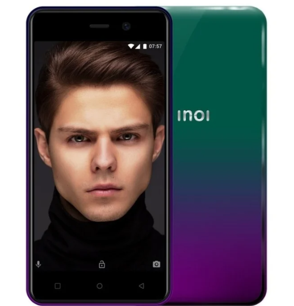 Смартфон INOI 2 Lite (2019) 4GB PURPLE GREEN