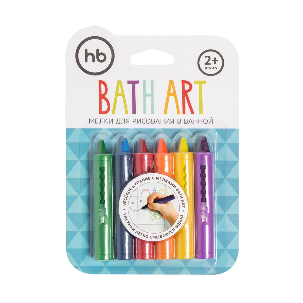 Мелки HAPPY BABY 32022 для ванной BATH ART
