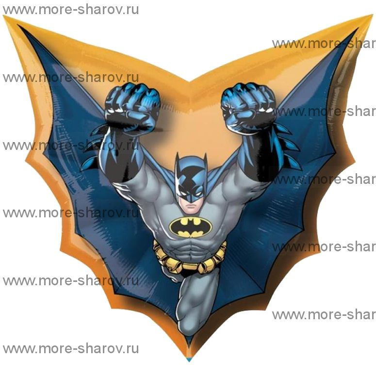 Шар Бэтмен в Полете 71х69см
