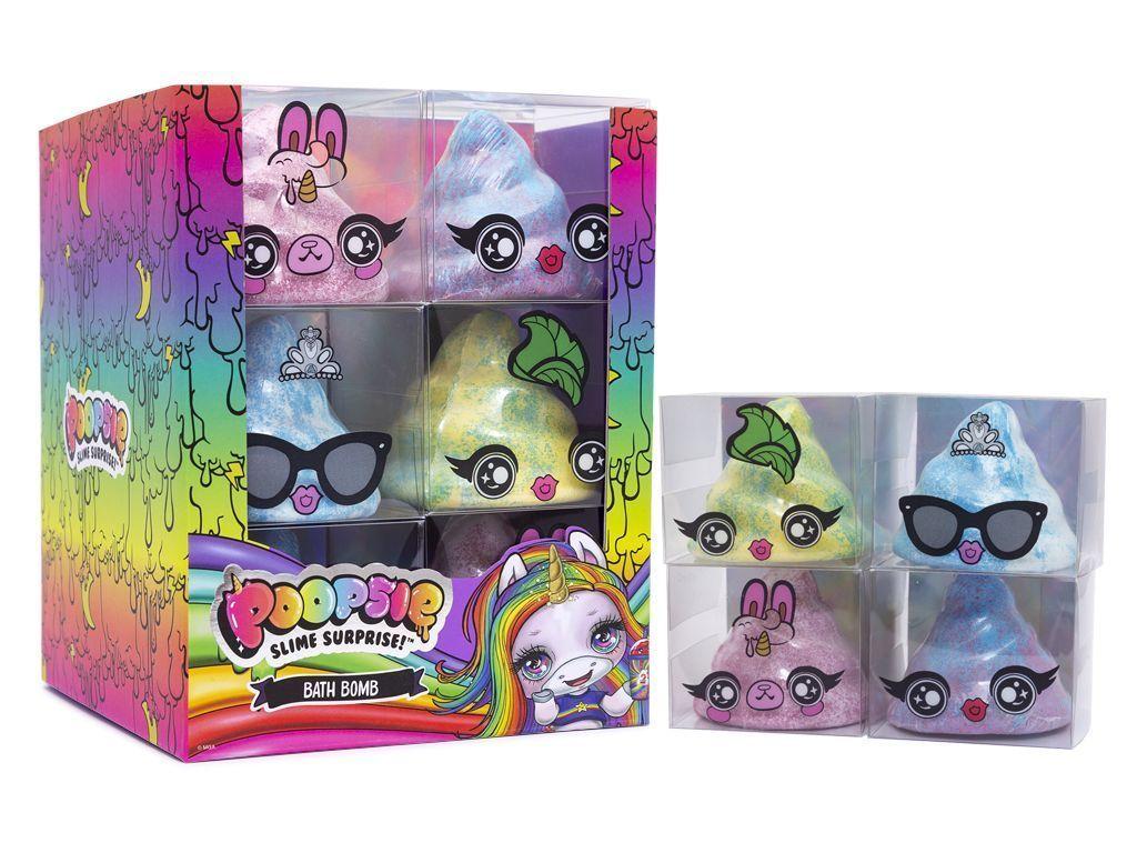 Набор детской косметики POOPSIE SLIME SURPRISE! 68-0007 для ванны, 4 вида в ассортименте