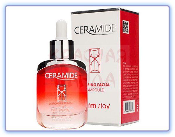 Укрепляющая сыворотка для лица с керамидами FarmStay Ceramide Firming Facial Ampoule