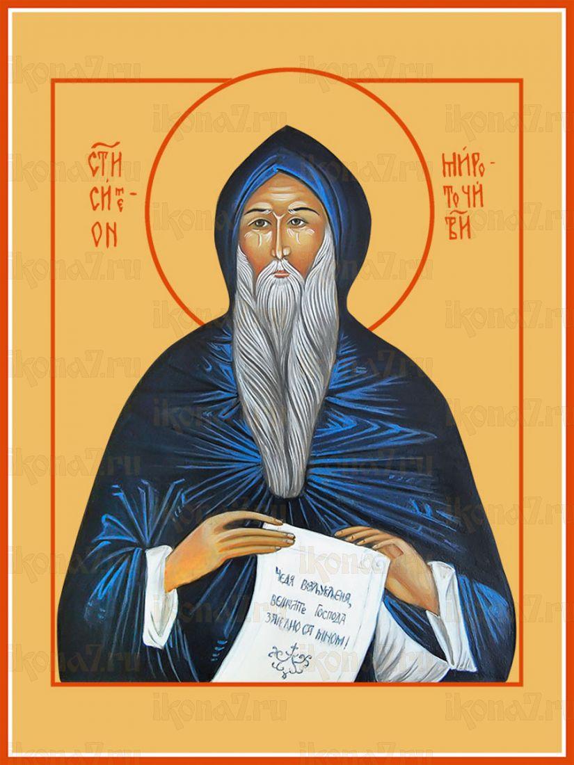 Икона Симеон Мироточивый преподобный